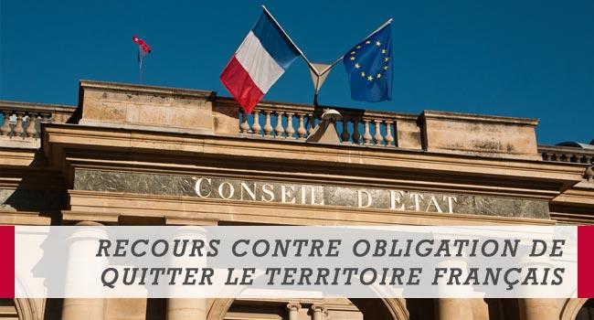 Recours contre Obligation de quitter le territoire français